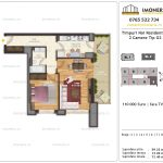 Apartamente de vanzare Timpuri Noi Residential -2 Camere tip G2-2-9