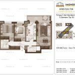 Apartamente de vanzare Timpuri Noi Residential -3 Camere tip E2 2-9