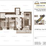 Apartamente de vanzare Timpuri Noi Residential -3 Camere tip H2 1-2
