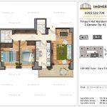 Apartamente de vanzare Timpuri Noi Residential -3 Camere tip H2 3-9