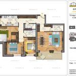 Apartamente de vanzare Timpuri Noi Residential -4 Camere tip AB1 2-4