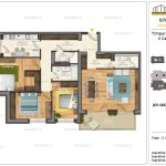 Apartamente de vanzare Timpuri Noi Residential -4 Camere tip AB1 5-9
