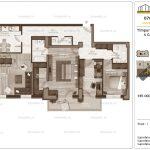 Apartamente de vanzare Timpuri Noi Residential -4 Camere tip AB2 1-2