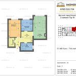Apartamente de vanzare Berceni Apartments -2 camere tip B1