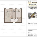 Apartamente de vanzare Berceni Apartments -2 camere tip C1
