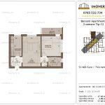 Apartamente de vanzare Berceni Apartments -2 camere tip C2