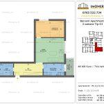 Apartamente de vanzare Berceni Apartments -2 camere tip D2