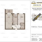 Apartamente de vanzare Berceni Apartments -2 camere tip G1