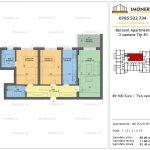 Apartamente de vanzare Berceni Apartments -3 camere tip B1