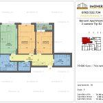 Apartamente de vanzare Berceni Apartments -3 camere tip B2