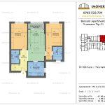 Apartamente de vanzare Berceni Apartments -3 camere tip C1