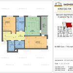 Apartamente de vanzare Berceni Apartments -3 camere tip C2