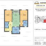 Apartamente de vanzare Berceni Apartments -3 camere tip D1