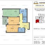 Apartamente de vanzare Berceni Apartments -3 camere tip E2