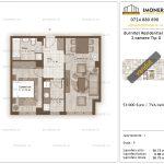 Apartamente de vanzare Burnitei Residential 3-2 camere tip G