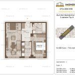 Apartamente de vanzare Burnitei Residential 3-2 camere tip H