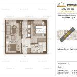 Apartamente de vanzare Burnitei Residential 3-2 camere tip K