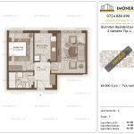 Apartamente de vanzare Burnitei Residential 3-2 camere tip L