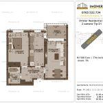 Apartamente de vanzare Dristor Residential 1 -2 camere tip D1
