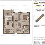 Apartamente de vanzare Dristor Residential 1 -2 camere tip E1