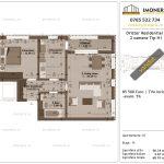 Apartamente de vanzare Dristor Residential 1 -2 camere tip H1