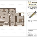Apartamente de vanzare Dristor Residential 1 -2 camere tip J2