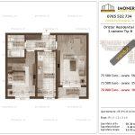 Apartamente de vanzare Dristor Residential 2 -2 camere tip B