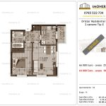 Apartamente de vanzare Dristor Residential 3 -2 camere tip E