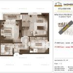 Apartamente de vanzare Mihai Bravu Residence 10 -2 camere tip B