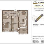 Apartamente de vanzare Dristor Residential 1 -2 camere tip B2