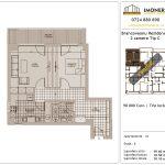 Apartamente de vanzare Brancoveanu Residence 8 -2 camere tip C