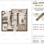 Apartamente de vanzare Dristor Residential 2 -2 camere tip D