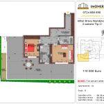Apartamente de vanzare Mihai Bravu Residence 8 -2 camere tip C+