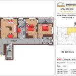 Apartamente de vanzare Mihai Bravu Residence 8 -3 camere tip A