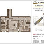 Apartamente de vanzare Mihai Bravu Residence 8 -3 camere tip B