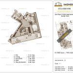 Apartamente de vanzare Piata Sudului - Sun Plaza Il Patio Apartments 2 -Studio tip B