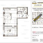 Apartamente de vanzare Titan - Pallady Apartments -2 camere tip D'