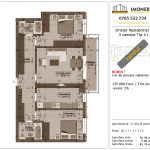Apartamente de vanzare Dristor Residential 1 -3 camere tip A1