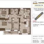 Apartamente de vanzare Dristor Residential 1 -3 camere tip B2