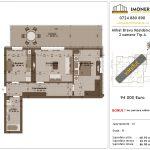 Apartamente de vanzare Mihai Bravu Residence 8 -2 camere tip A