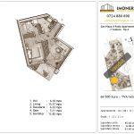 Apartamente de vanzare Piata Sudului - Sun Plaza Il Patio Apartments 2 -2 Camere tip A