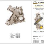 Apartamente de vanzare Piata Sudului - Sun Plaza Il Patio Apartments 2 -2 Camere tip B