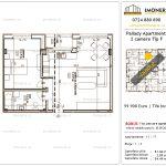 Apartamente de vanzare Titan - Pallady Apartments -2 camere tip F