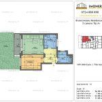 Apartamente de vanzare Brancoveanu Residence 10 -2 camere tip A +