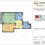 Apartamente de vanzare Brancoveanu Residence 10 -2 camere tip A