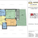 Apartamente de vanzare Brancoveanu Residence 10 -2 camere tip B +