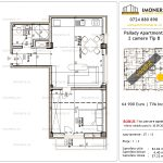 Apartamente de vanzare Titan - Pallady Apartments -2 camere tip B