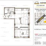 Apartamente de vanzare Titan - Pallady Apartments -2 camere tip B'