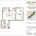 Apartamente de vanzare Titan - Pallady Apartments -2 camere tip E