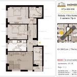 Apartamente de vanzare Titan - Pallady Villa Homes -3 camere tip A